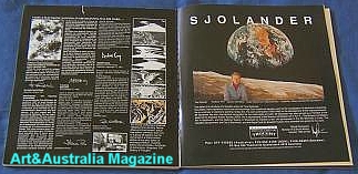 Ture Sjolander Art and Australia Magazine