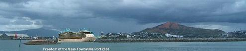 "Picture by Ture Sjolander ""The Floating Hospital"" Townsville Ocean Terminal development"